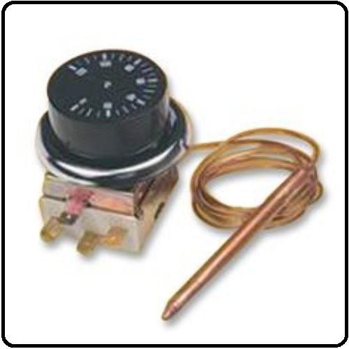 Termostat 0-40°C /m ekstern sensor