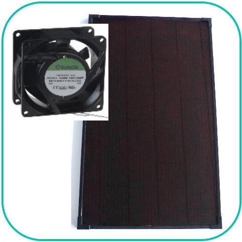 Ventilations kit med solcelle KCVA10_24