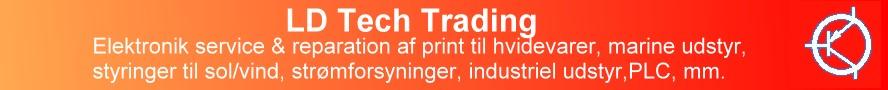 Servicerer elektroniske print til de fleste typer/slags maskiner, apparater, systemer