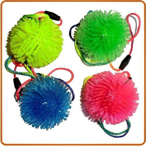 Smykker med LED Blinkende bold vedhæng med små pigge